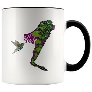 Hummingbird Accent Mug
