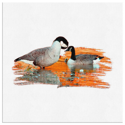 Goose Canvas Wrap