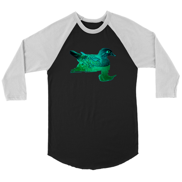 Duck Canvas Unisex 3/4 Raglan
