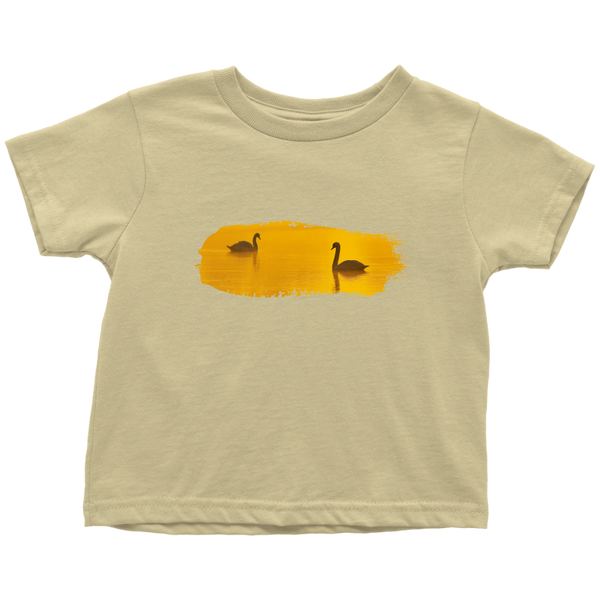 Swan Toddler T-Shirt