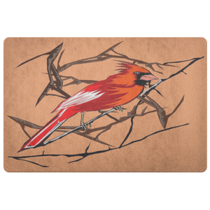 Northern Cardinal Bird Doormat