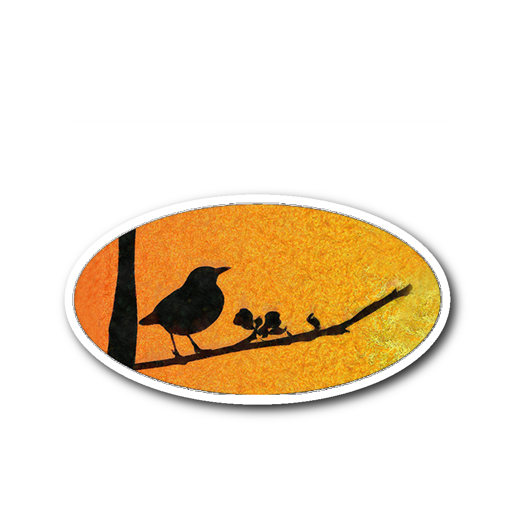 Black Bird Sticker