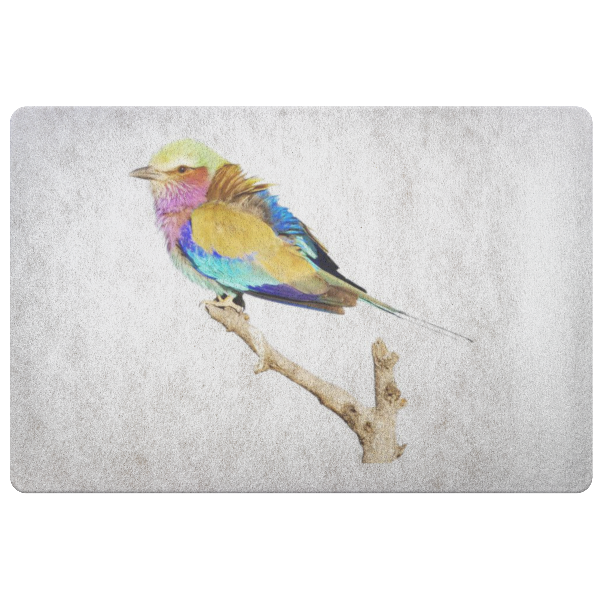Lilac-breasted Roller Doormat