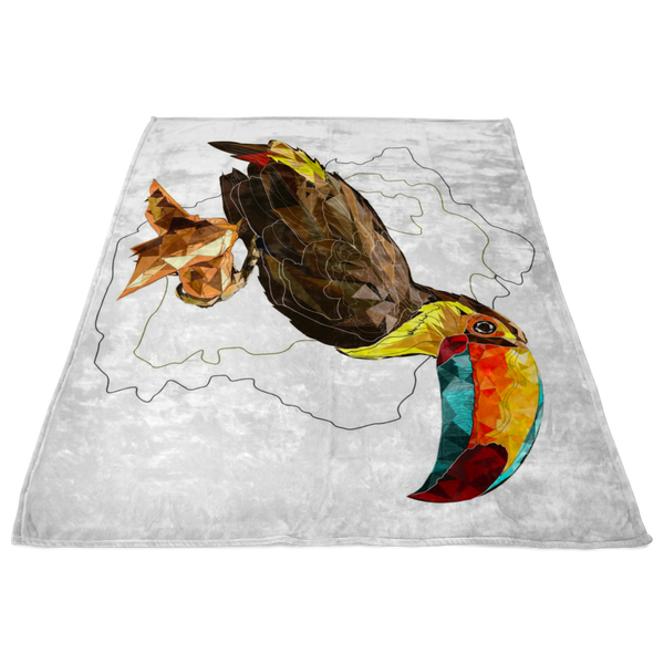 Toucan Fleece Blanket