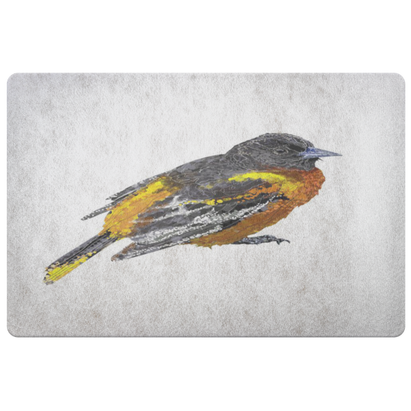Baltimore Oriole Doormat