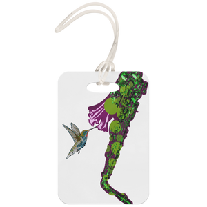 Hummingbird Luggage Tag