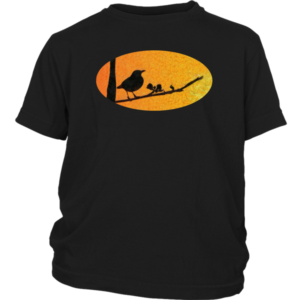 Black Bird District Youth Shirt