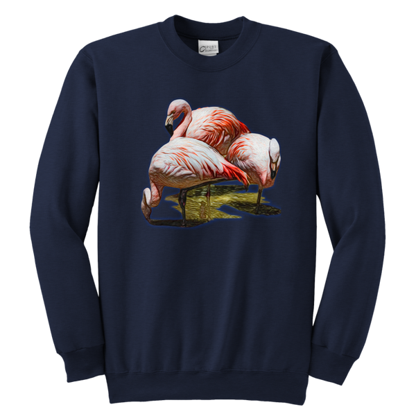 Flamingo Youth Crewneck Sweatshirt