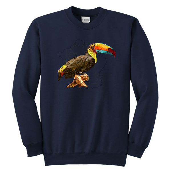 Toucan Youth Crewneck Sweatshirt