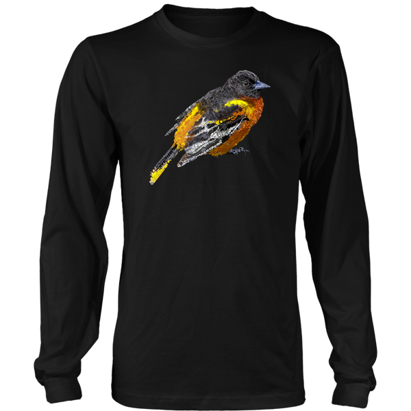 Baltimore Oriole Long Sleeve Shirt
