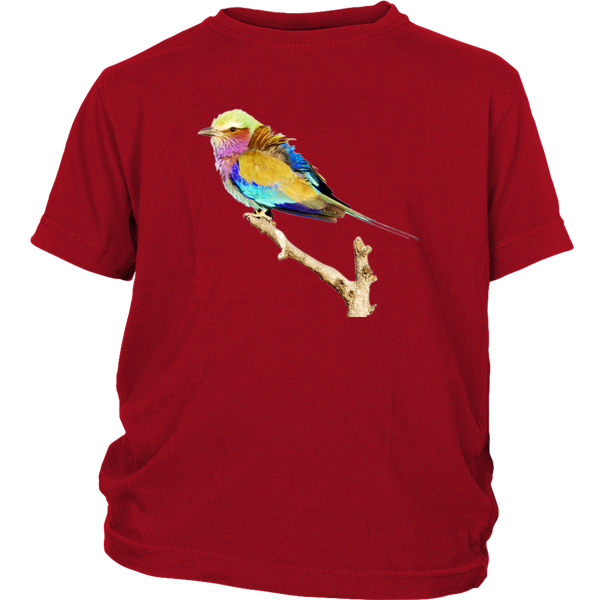 Lilac-breasted Roller District Youth Shirt