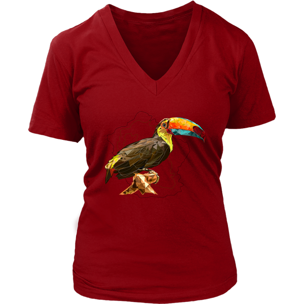 Toucan Women's V-Neck