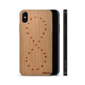 Wood  - Dove Infinity Phone Case