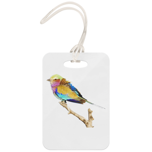 Lilac-breasted Roller Luggage Tag