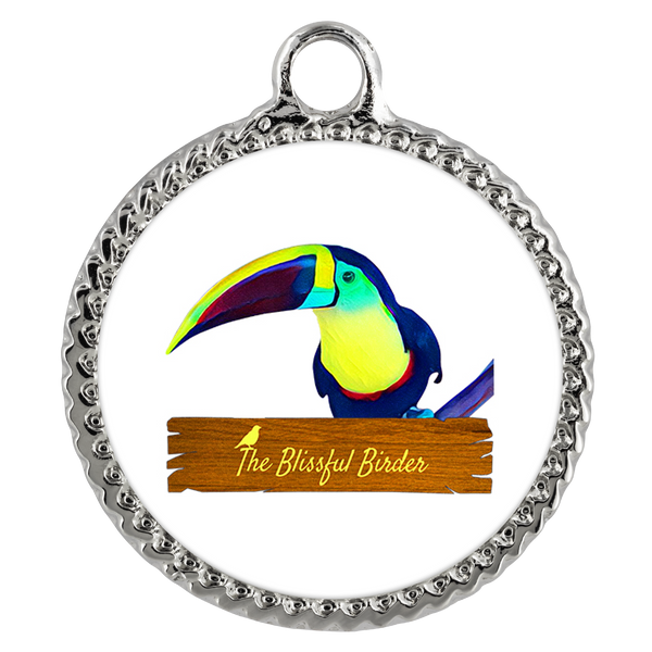 Toucan Necklace Deco Coin