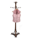 ALEXI. S44530 - ZIPPED VEST Baby Lambskin Napa/Full Genuine Ironed Wool Interior