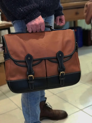 AFRICA- Briefcase (Messenger Bag Bi-colours)