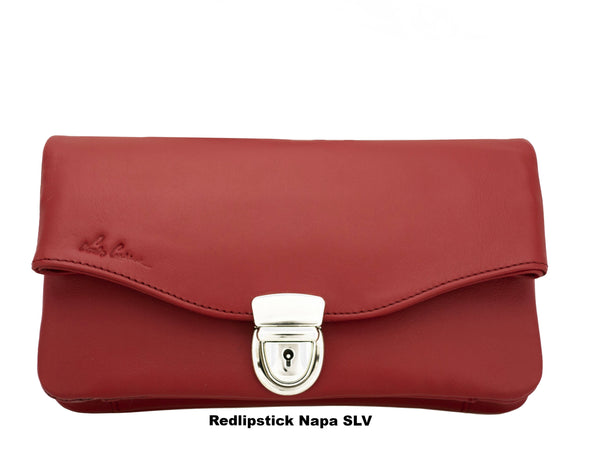 CATHY T L - TUCK LOCK.  A minimalist for every days (Cross body Bag or Hand Clutch Bag)