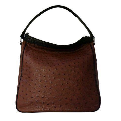 HAVERSACK Ostrich- (Genuine Ostrich leather)