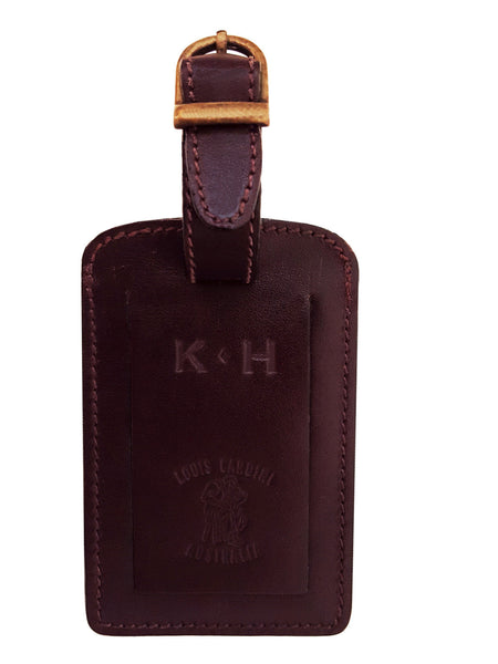 LUGGAGE'S or BAG'S TAG (All Leather}