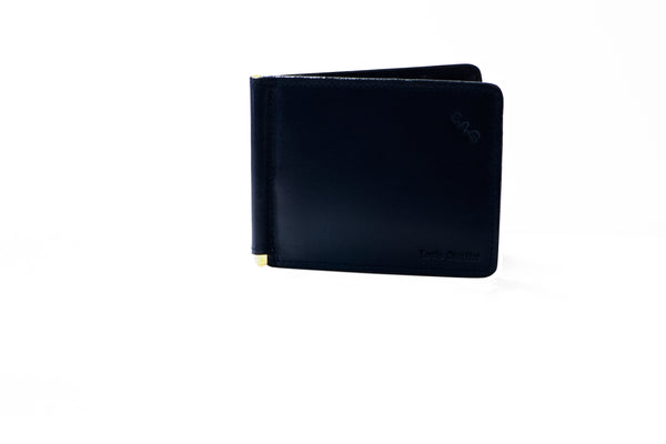 MIKA 5 SR (Side Reversed) Thinnest Money Clip Wallet for 16 cards.