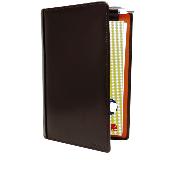 No 566 or No 570 - A 5 Note Pad (Small Leather side spiral entrance Note Book Cover)