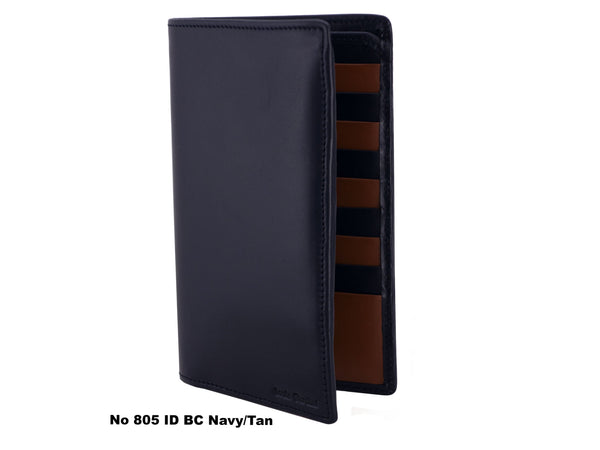 No 805 CC ID- Breast Pocket Wallet (17cm), Plain and Elegant
