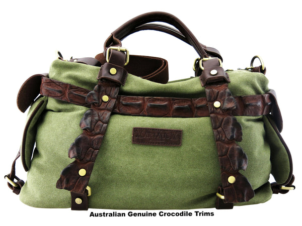 OUTBACK- (Genuine Australian Back Strap Crocodile Trims)