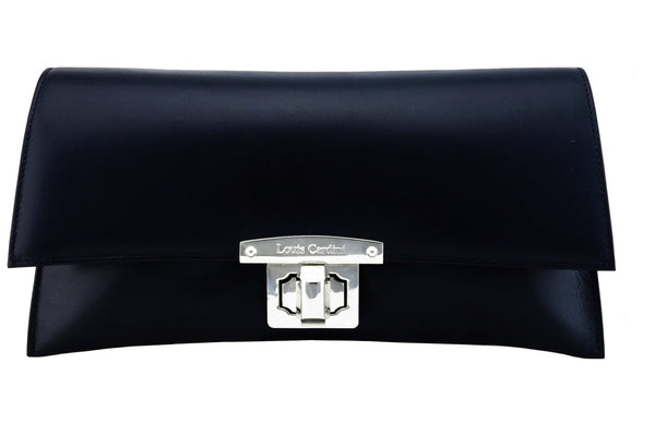 ROXANE- Clutch. (So classy, elegant, minimalist: « a must » Bi colour or Self)