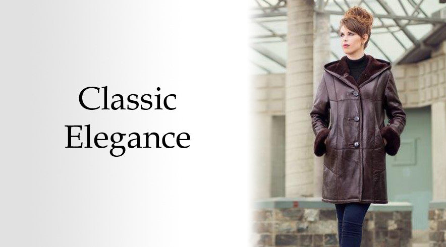 Classic and Elegant Leather Coats