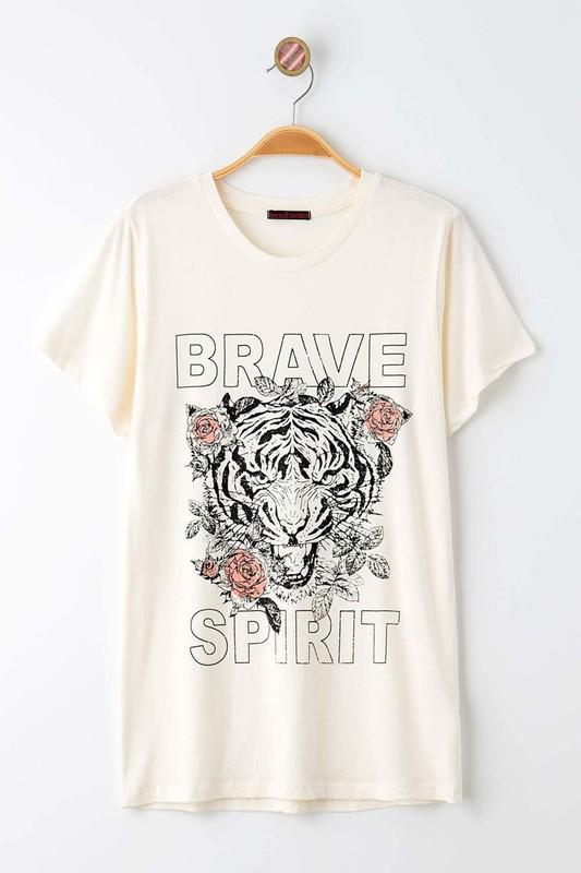 Brave Spirit Graphic Tee