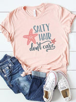 *Plus* Salty Hair Don't Care Graphic Tee