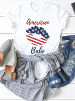 *Plus* American Babe Graphic Tee