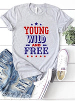 Young, Wild, Free Graphic Tee