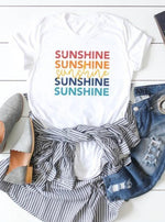 *Plus* Rainbow Sunshine Graphic Tee