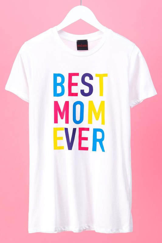 Best Mom Ever Graphic Tee - Lilac&Lemon