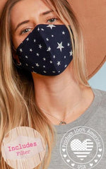 Star Print Face Mask