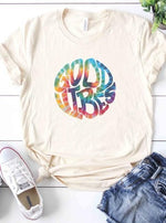 *Plus* Tie Dye Good Vibes Graphic Tee
