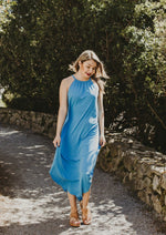 Ella Maxi Dress Blue