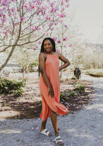 Ella Maxi Dress Orange