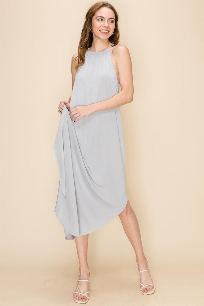 Cloud Grey Everyday Maxi Dress
