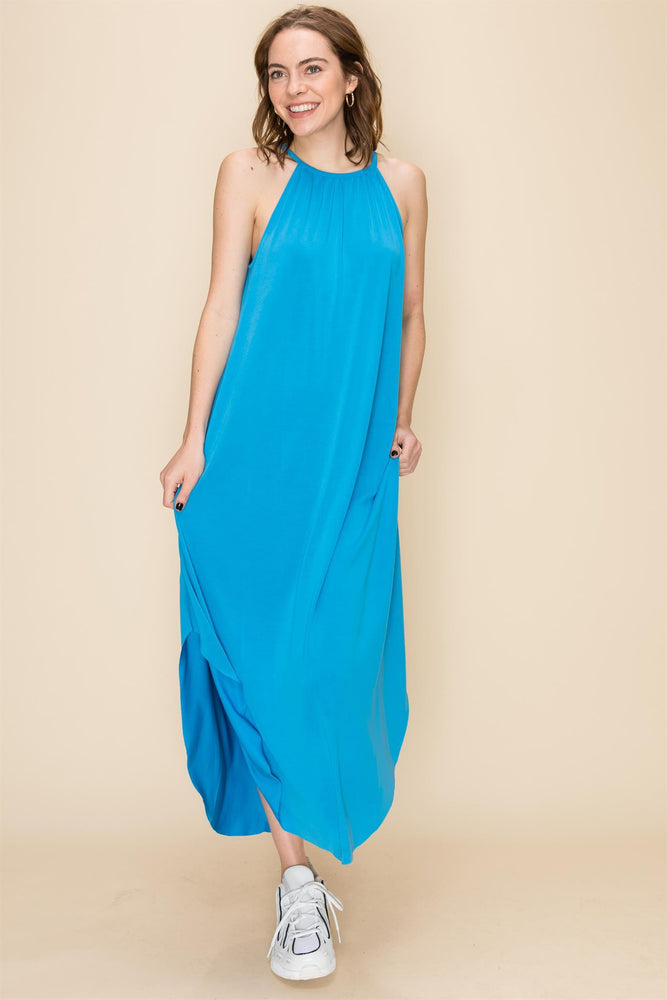 Malibu Blue Everyday Maxi Dress