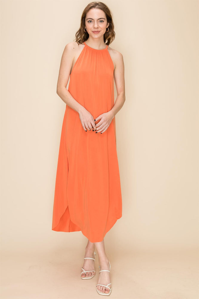 Orange Coral Everyday Maxi Dress