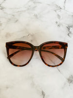 Tortoise Shell Cat Eye Sunglasses - Lilac&Lemon