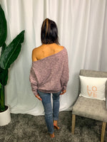 Dolman Sleeve Off The Shoulder Top - Lilac&Lemon