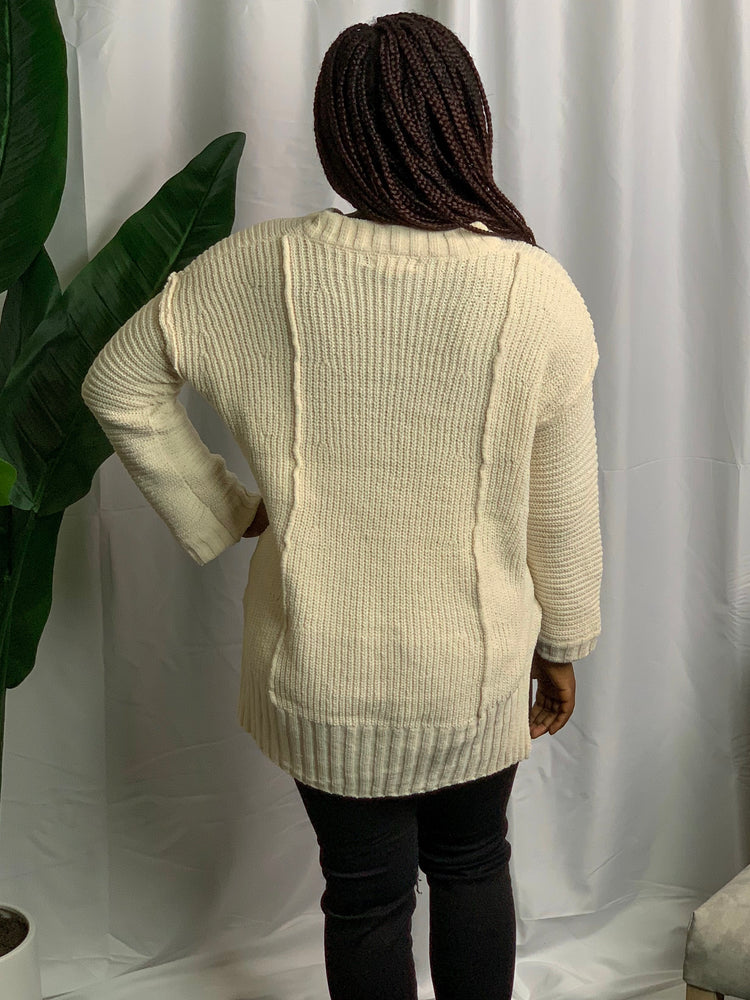 Rose Chenille Sweater