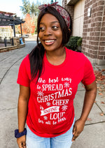 Spread Christmas Cheer Graphic Tee