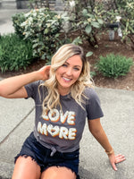 Love More Graphic Tee - Lilac&Lemon