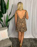 Leopard Print Tank Dress - Lilac&Lemon