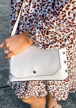 Ivory Stud Cross Body Bag
